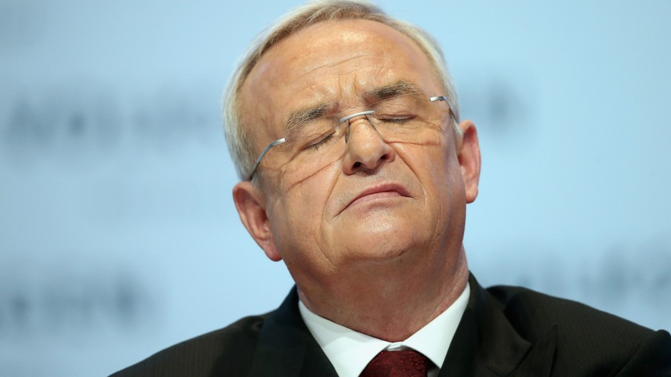 (FILE) Volkswagen CEO Martin Winterkorn Steps Down
