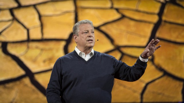 Al Gore bei der Ted Conference