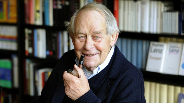Schriftsteller Siegfried Lenz