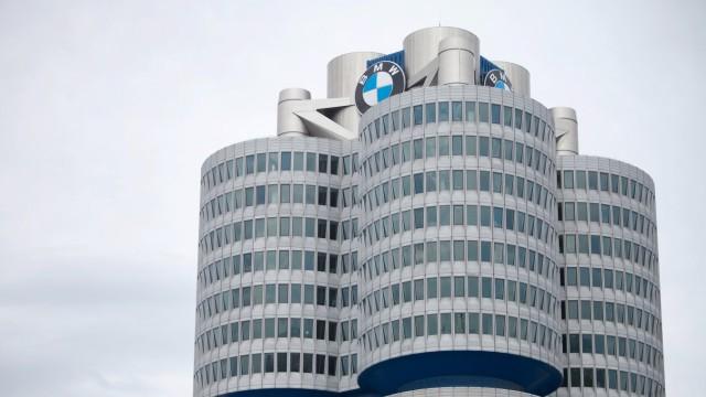 BMW Zentrale in München, 2013