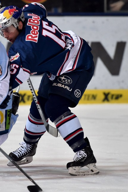 Ice hockey Eishockey DEL RB Muenchen vs Straubing MUNICH GERMANY 28 FEB 16 ICE HOCKEY DEL D