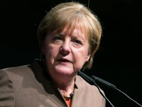 Volkmarsen Bundeskanzlerin Angela Merkel 16 Politischer Aschermittwoch der CDU Volkmarsen Copyrig
