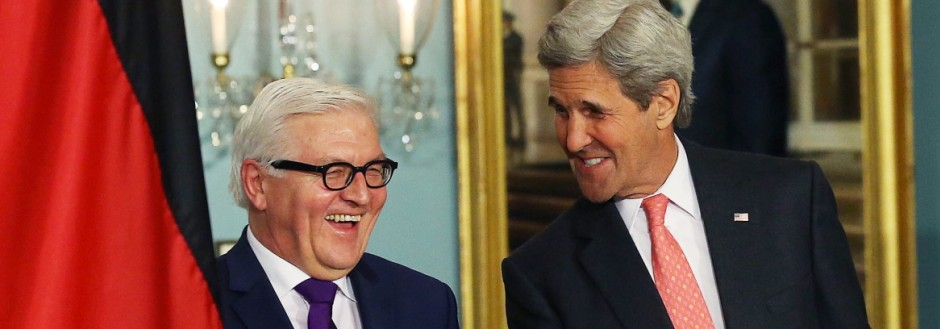 John Kerry Meets With German Foreign Minister Frank-Walter Steinmeier