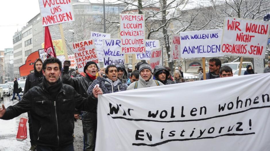 Süddeutsche Zeitung München Protestzug