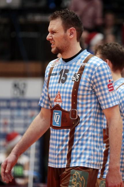 Herrsching: VOLLEYBALL 1. Bundesliga / GCDW v Alba Berlin (Recycling Volleys)