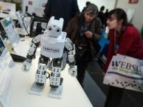 Internet World Messe,  auf dem Münchner Messegelände in Riem