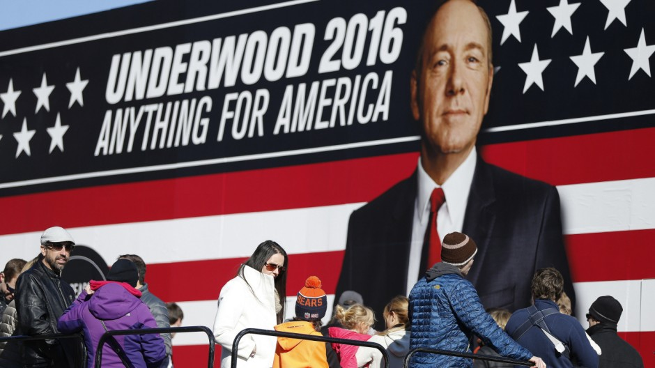 "TV-Serien PR-Kampagne zu ""House of Cards"""