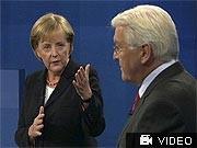 TV-Duell: Merkel vs. Steinmeier: Remis der Rollenspieler, Reuters
