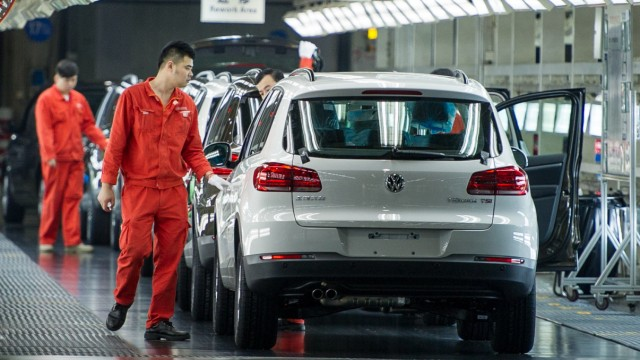 Volkswagen-Werk in Shanghai