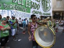 National strike in Argentina