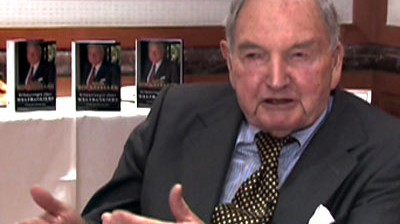 Videointerview mit David Rockefeller