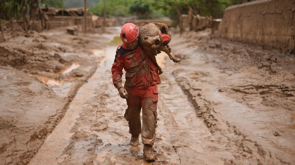 Samarco Giftschlamm-Katastrophe in Brasilien