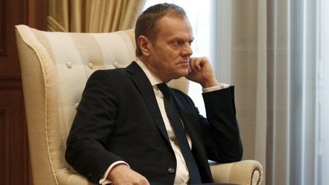 President of the European Council Donald Tusk visits Athens