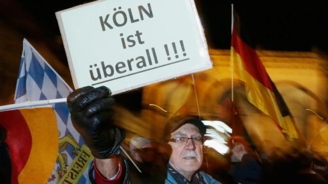 Pegida Marches In Munich