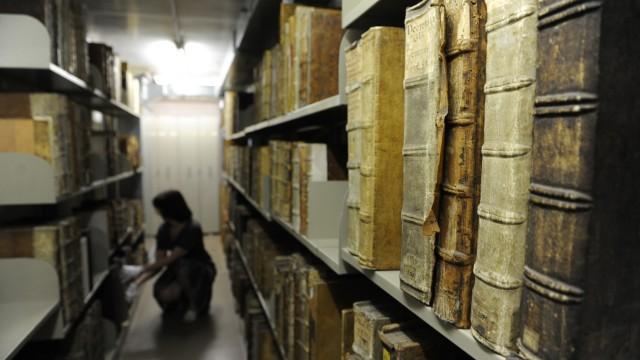 Inkunabeln in der Bayerischen Staatsbibliothek in München, 2013