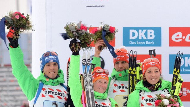 Biathlon World Championships - Mixed Relay