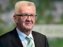 Greens Party Campaigns In Baden-Wuerttemberg