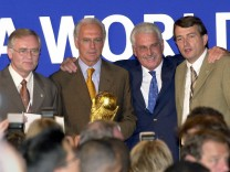 Schmidt, Beckenbauer, Radmann und Niersbach