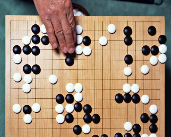 Oriental board game of Go, Japan