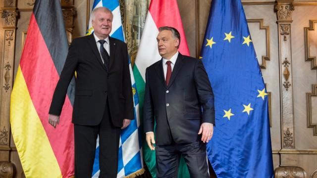 Bayerns Regierungschef Seehofer in Ungarn