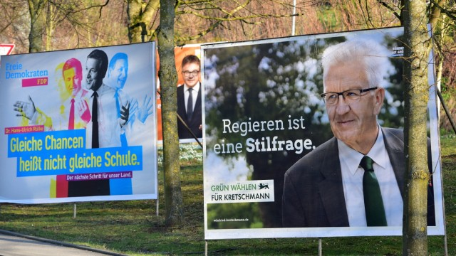 Baden-Wuerttemberg Prepares For State Elections