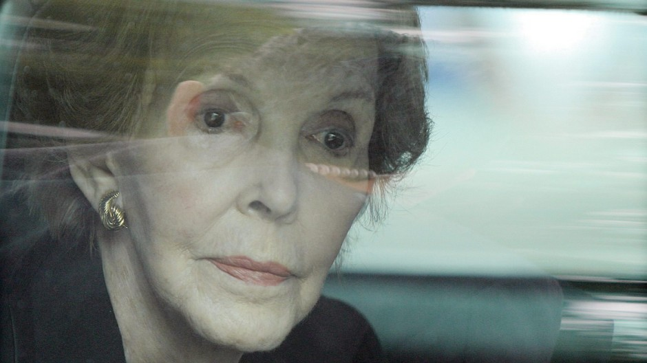 Nancy Reagan dies at the age of 94