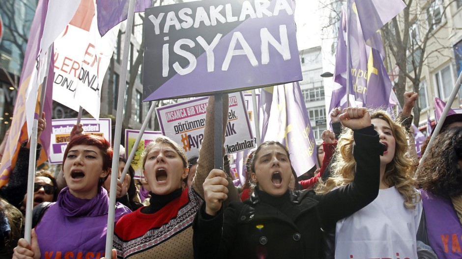 International Women's Day in Turkey