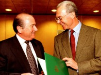 Blatter und Beckenbauer