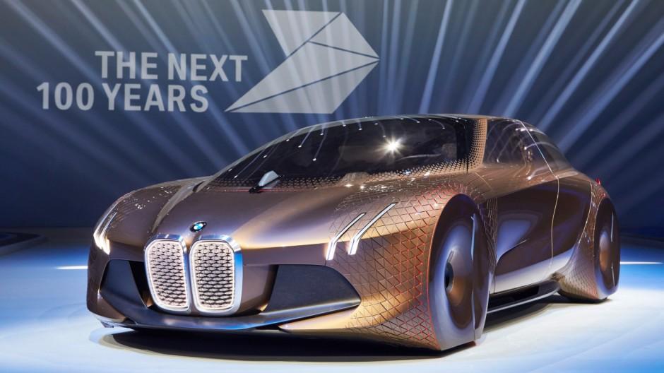 100 Jahre BMW: Studie Vision Next 100