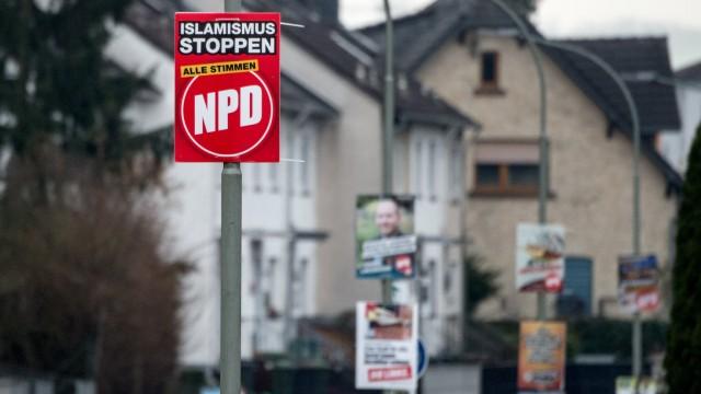 NPD holt in Büdingen 14 Prozent
