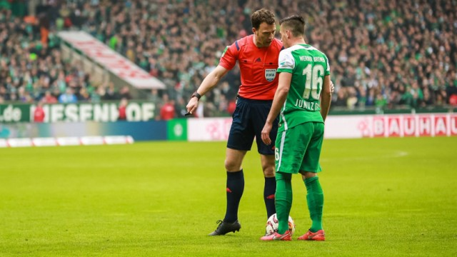 GER 1 FBL Werder Bremen vs Hannover 96 05 03 2016 Weser Stadion Bremen GER 1 FBL Werder Breme