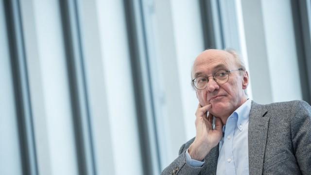 Winfried Nerdinger im NS-Dokuzentrum in München, 2015