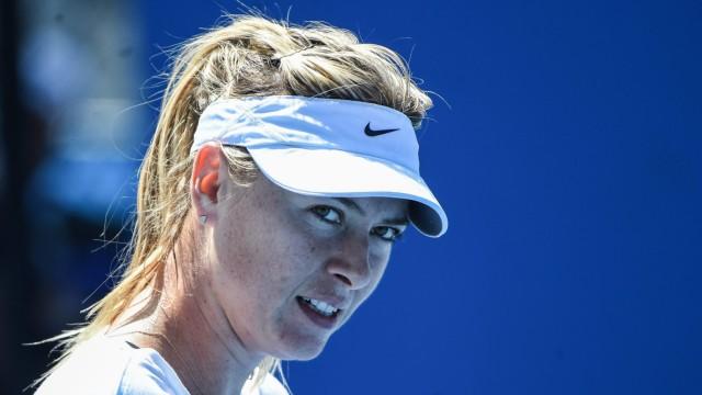 Maria Sharapova failed drug test at Australian Open