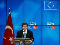 European And Turkish Leaders Hold Summit On Migration