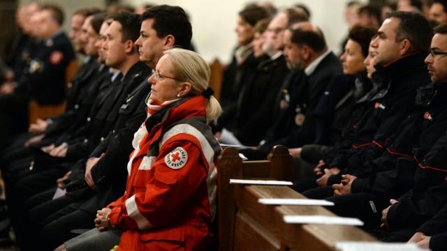 Ökumenischer Gottesdienst für Rettungskräfte des Zugunglücks
