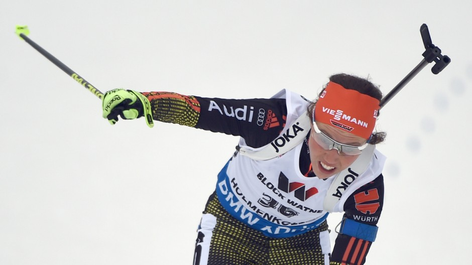 Biathlon World Championships - Individual competition