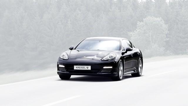 Porsche Panamera mit Elektroantrieb von Kreisel Electric