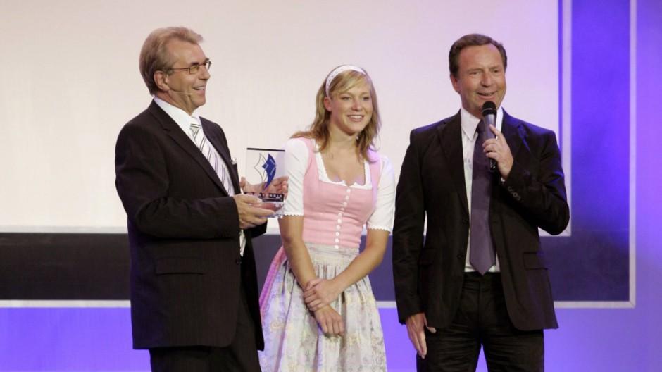 Günther Lommer Amelia Kober Gerd Rubenbauer Sportpreis 2006 Görlich/Imago