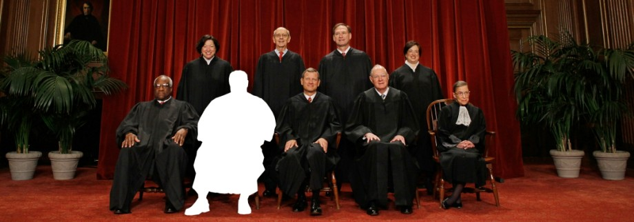 New U.S. Supreme Court Poses For 'Class Photo'