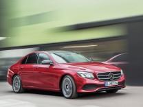 Die neue Mercedes E-Klasse.