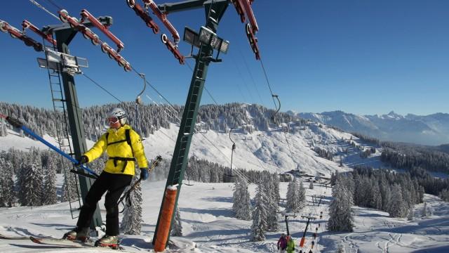Skisaison im Allgäu hat begonnen