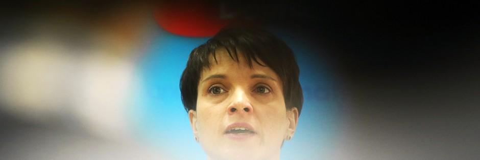 Pressekonferenz Alternative für Deutschland
