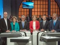 Wahlkampf Rheinland-Pfalz - TV Duell