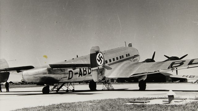 Lufthansa Flugzeug 'Württemberg'