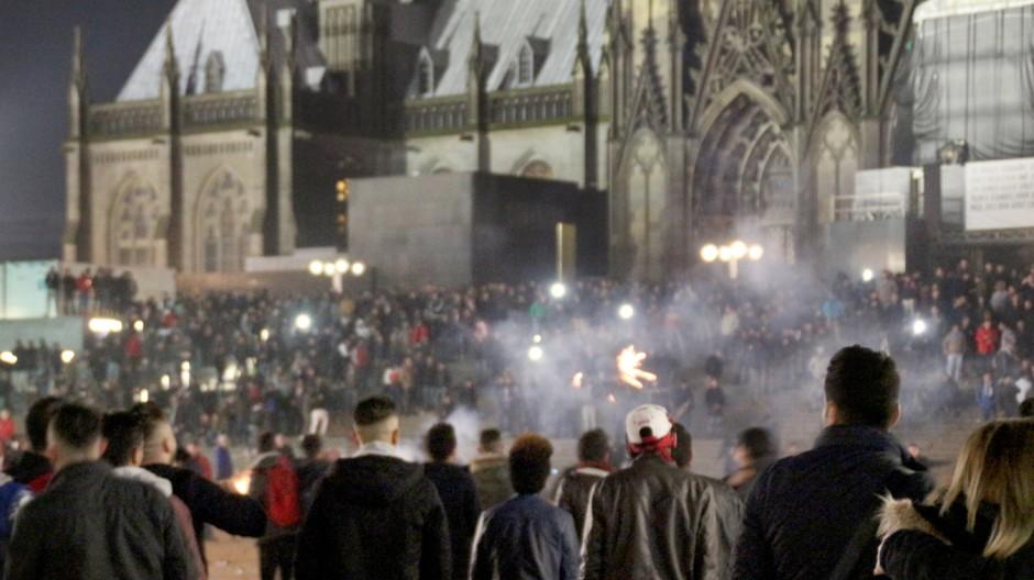 Silvester am Kölner Hbf