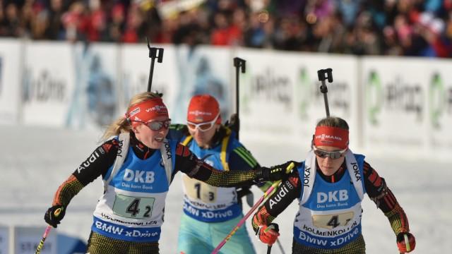 Biathlon World Championships - Relay Women