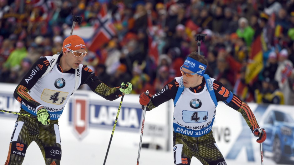 Biathlon World Championships - Relay Men