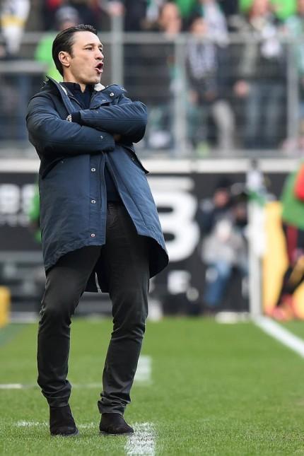 Fußball 1 Bundesliga 26 Spieltag Borussia Mönchengladbach Eintracht Frankfurt am 12 03 2016 im B; kovac