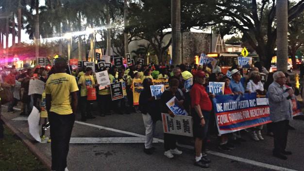 Proteste Trump Miami