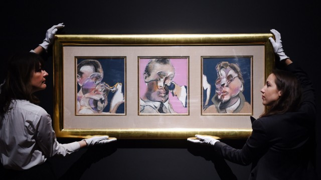 Christie's exhibiting the changing face of self-portraiture from